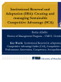 Institutional renewal and adaptation (IRA): Creating and managing sustainable competitive...