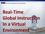 Real-time global instruction in a virtual environment