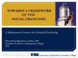 Towards a framework of the social franchise: A management construct for nonprofit leadership
